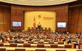 Ouverture de la 10e session de la XIVe législature de l'AN