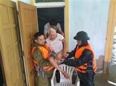 Inondations au Centre : messages de sympathie de dirigeants laotiens et thaïlandais