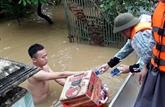 Les secours s'organisent pour venir en aide aux sinistrés des inondations