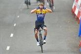 Tour d'Espagne : Primoz Roglic premier leader après sa victoire dans la 1re étape