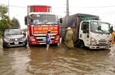 Le typhon Saudel et l'aide aux sinistrés des crues au menu du débat