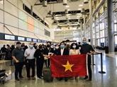 Près de 340 citoyens vietnamiens rapatriés d'Europe, d'Amérique et d'Afrique