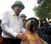Le vice-Premier ministre Truong Hoà Binh à Quang Tri
