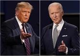 Trump et Biden prêts pour leur ultime débat