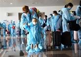 COVID-19 : rapatriement de Vietnamiens des États-Unis, de République de Corée et des Philippines