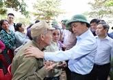Le PM demande la stabilisation rapide de la vie des habitants sinistrés