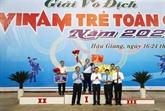 Près de 800 sportifs en lice au 18e Tournoi national junior de Vovinam 2020