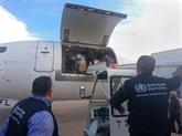 L'OMS fait don de 8,8 tonnes de fournitures médicales à la Syrie