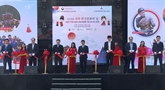 Des visiteurs affluent à Sa Pa pour participer à la Journée de la culture sud-coréenne