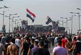 Des milliers de manifestants en Irak pour le 1er anniversaire de la révolte