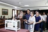 Des Vietnamiens au Laos au chevet des sinistrés des crues au Centre