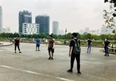 Hanoï : l'obligation de port du masque dans les lieux publics