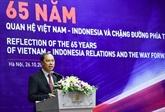 Les relations Vietnam - Indonésie, bilan et perspectives
