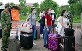 Rapatriement de plus de 240 citoyens vietnamiens de Singapour