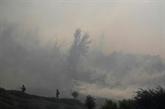 Californie : violent feu de broussailles, 60.000 personnes évacuées