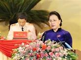La présidente de l'AN donne des recommandations à l'organisation du Parti de Thanh Hoa