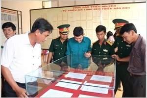 Exposition sur les archipels de Hoàng Sa et Truong Sa à Binh Thuân