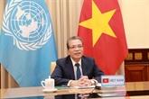 Le Vietnam appelle la communauté internationale à soutenir les Palestins à surmonter la crise