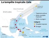 Zeta devient un ouragan en s'approchant du Mexique