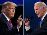 À J-7, Trump promet une super-reprise, Biden d'endiguer le virus