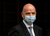 Le président de la FIFA, Gianni Infantino, positif au COVID-19
