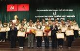 Hô Chi Minh-Ville félicite près de 1.000 élèvesexcellents