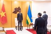 Le Rwanda souhaite promouvoir les relations de coopération avec le Vietnam