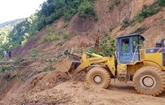 Affaissements de terrain : 14 corps retrouvés, 13 portés disparus et 45 survivants