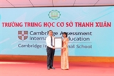 Le collège Thanh Xuân reconnu comme membre de Cambridge International