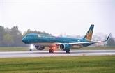Vietnam Airlines continue d'ajuster ses vols en raison du typhon Molave
