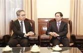 Promotion du partenariat stratégique approfondi Vietnam-Japon