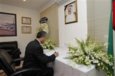 Hô Chi Minh-Ville rend hommage à l'émir du Koweït