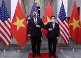Le vice-PM Pham Binh Minh s'entretient avec le secrétaire d'État américain