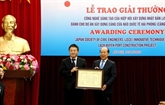 Le port international de Hai Phong reçoit un prix de technologie japonais