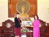 La ville de Cân Tho intensifie sa coopération avec le Royaume-Uni