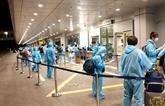 COVID-19 : près de 350 Vietnamiens rapatriés de Russie