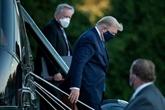 Trump à l'hôpital, nombreux cas de COVID-19 chez les républicains