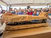Découverte en Égypte de 59 sarcophages intacts, et ce n'est qu'