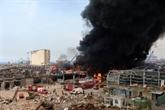 Au Liban, une année surréaliste pour pompiers et secouristes