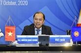 Réunion en visioconférence des hauts officiels de l'ASEAN