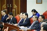 Troisième journée de travail du 13e plénum du Comité central du Parti