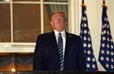 Trump de retour au Bureau ovale, toujours convalescent du COVID-19