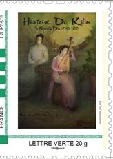 Des timbres inspirés du Truyên Kiêu édités en France