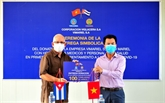 Des entreprises vietnamiennes accompagnent Cuba dans sa lutte anti-COVID