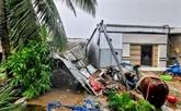 Les catastrophes naturelles provoquent 215 millions d'USD de pertes