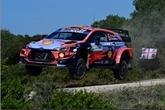 Rallye de Sardaigne : Sordo en tête devant Suninen et Ogier à la mi-journée