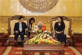 Le président de l'Assemblée nationale sud-coréenne visite Ninh Binh