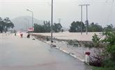 Le typhon Etau fait deux morts au Centre