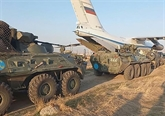 Les premières forces de la paix russes déployées à Nagorny Karabakh