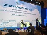 Sommet des affaires du Vietnam 2020 à Hanoï
